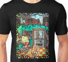 Metallic Pudding Illustrated Unisex T-Shirt
