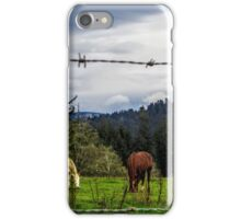 Out To Pasture iPhone Case/Skin