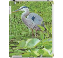 """Great Blue Heron"" iPad Case/Skin"
