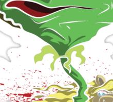 Kermit's Fear and Loathing  Sticker