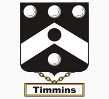Timmins Coat of Arms (English) by coatsofarms