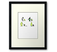 Unnatural Selection Framed Print