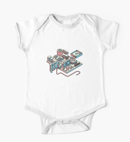 Motherboard One Piece - Short Sleeve