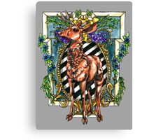 Rival Stag Canvas Print