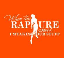 When the Rapture Comes… (Dark) Kids Tee