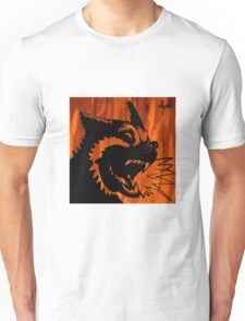 Twisted Wolf by ollyrh Unisex T-Shirt