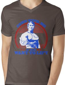 Arnold Mens V-Neck T-Shirt