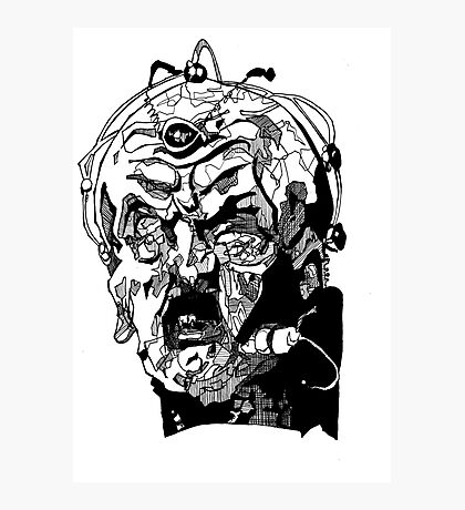 Davros - One  Photographic Print