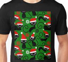 christmas santa cats  Unisex T-Shirt