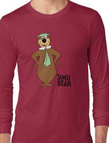 Yogi Bear - Bbo Bear - Cartoo Long Sleeve T-Shirt