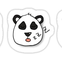 Panda emotions Sticker