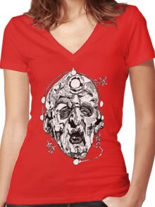 Davros - Two Women's Fitted V-Neck T-Shirt