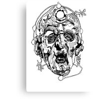 Davros - Two Canvas Print