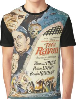 Vintage poster - The Raven Graphic T-Shirt