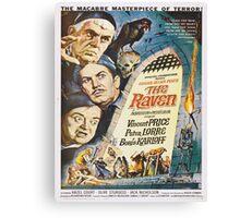 Vintage poster - The Raven Canvas Print