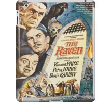 Vintage poster - The Raven iPad Case/Skin