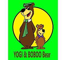 Yogi Bear - Bbo Bear - Cartoon Photographic Print