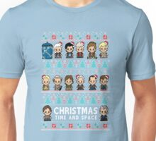 Lil Doc Who Christmas Jumper Unisex T-Shirt