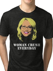 Doris Burke Woman Crush Everyday Drake  Tri-blend T-Shirt
