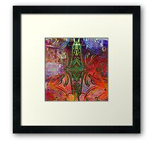 Inner Space Framed Print