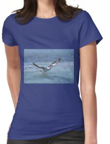 Pelican Lift Off Womens Fitted T-Shirt