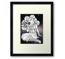 far out veve dove Framed Print