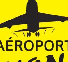 Non à l'aéroport de Notre Dame des Landes Sticker