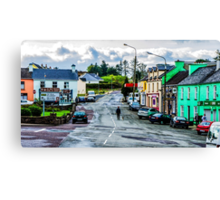 A Man And His Dog - Sneem, Ireland Canvas Print