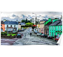 A Man And His Dog - Sneem, Ireland Poster