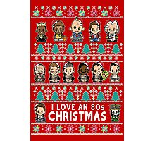 lil 80s Movie Christmas Jumper Photographic Print