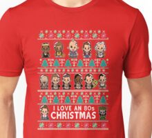 lil 80s Movie Christmas Jumper Unisex T-Shirt