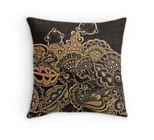 Pryography Doodle Throw Pillow