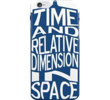 TARDIS Definition iPhone Case/Skin