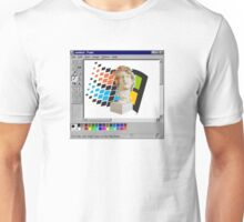 Vaporwave in paint.exe Unisex T-Shirt