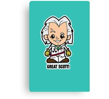 lil Doc Brown Canvas Print