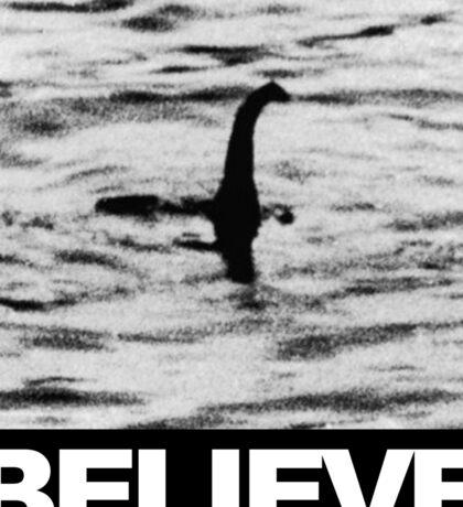 The Loch Ness Monster - Believe Sticker