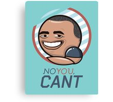 BO Sarcasm Canvas Print