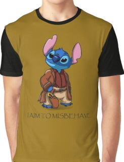 I Aim To Misbehave Graphic T-Shirt