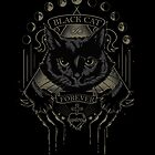 « Black Cat Cult » par JollyNihilist
