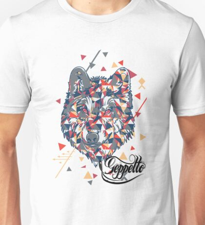 Geppetto Wolf Unisex T-Shirt