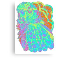 Spring Electric Conure Canvas Print