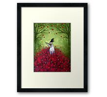 loVe is a symphony  Framed Print