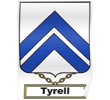 Tyrell Coat of Arms (English) Poster