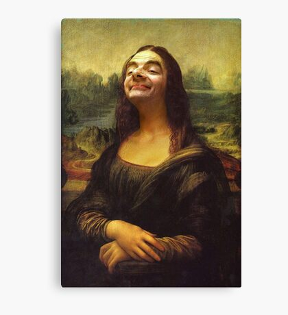 Mr Bean - Mona Lisa Canvas Print