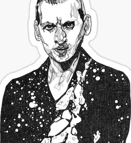 The Doctor Cosmic - Nine  Sticker