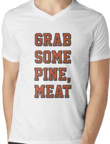 Grab Some Pine Mens V-Neck T-Shirt