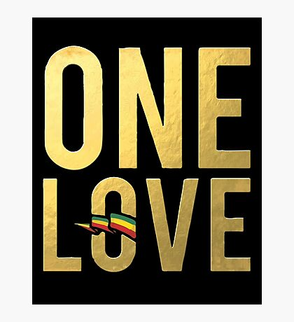 One Love Wall Art Photographic Print