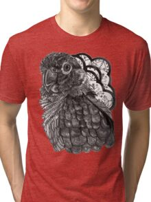 Greyscale Conure Tri-blend T-Shirt