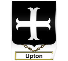 Upton Coat of Arms (English) Poster