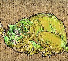 green catbeast by HiddenStash